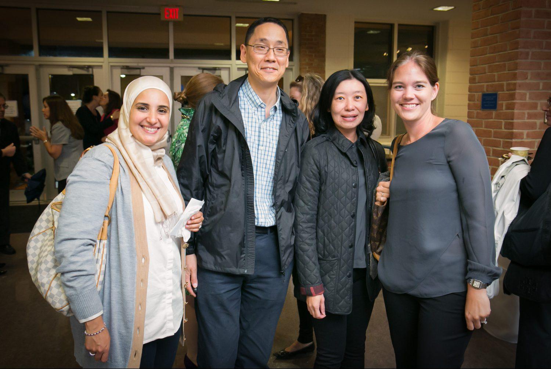 parents at PCW event